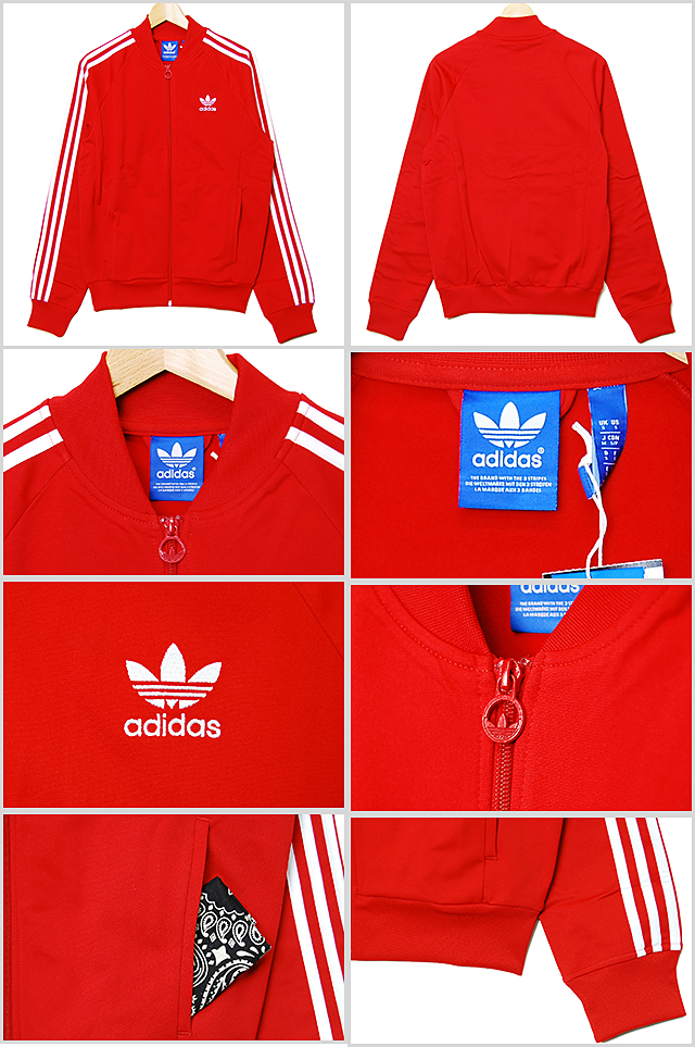 Adidas Originals Superstar Giacca Rossa 82qcB1