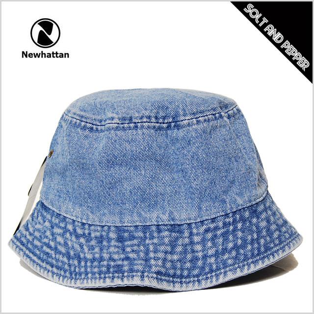 Bucket Hat men s ladies NEWHATTAN BUCKET HAT LIGHT BLUE DENIM INDIGO new  Hatten cotton bucket Hat light blue denim pale blue Indigo men s male  women s Women ... 89244d0e2c6