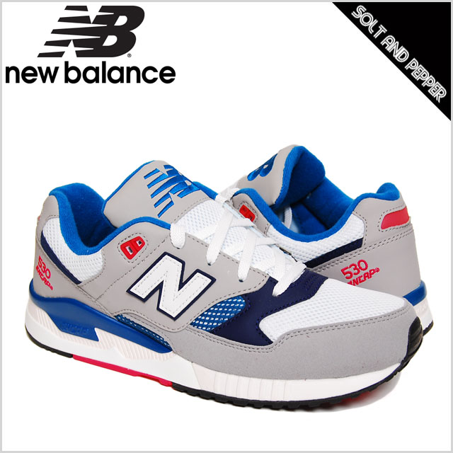 NEWBALANCE M530GBP CLASSICS TRADITIONNELS COLLECTION GRY BLU PNK WHT new  balance Sneakers Shoes 530 series Gray Ash Blue Blue Pink white white men  men Mens ...