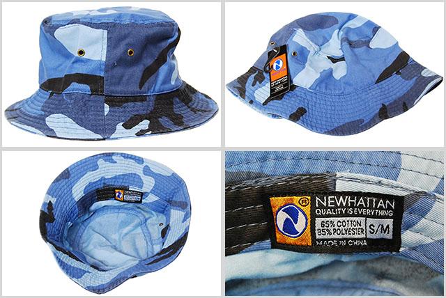 df883e9cddf05 Bucket Hat men s ladies NEWHATTAN BUCKET HAT BLUE SKY CAMO new Hatten  cotton bucket Hat blue sky Camo camouflage blue men men ladies ladies  accessory ...