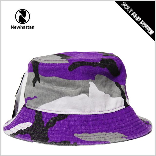 Bucket Hat men s ladies NEWHATTAN BUCKET HAT PURPLE CAMO new Hatten cotton bucket  Hat purple Camo camouflage purple men men ladies ladies accessory ... d9320f23838