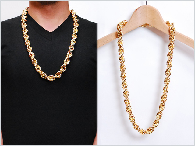 mens piece hop item boys vintage snake silver male chains wk chain punk necklace hip
