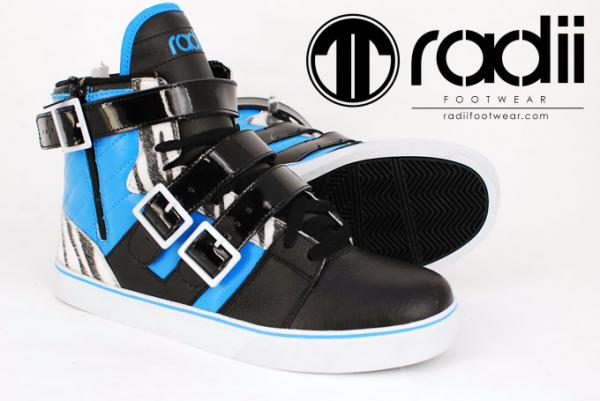 RADII STRAIGHT JACKET BLACK ZEBRA AQUA
