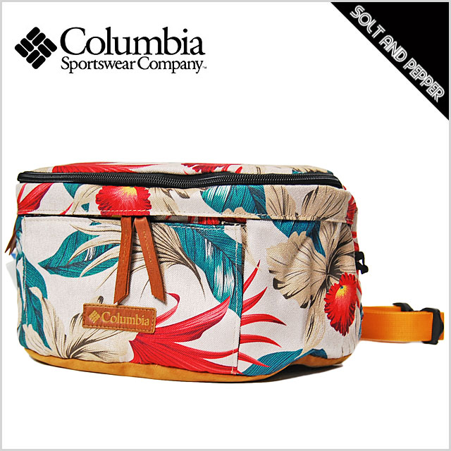 COLUMBIA CANOPY WANDERER HIP BAG SEA SALT ALOHA Colombia canopy wanderer hips bag porch shoulder bum  sc 1 st  Rakuten & SOLT AND PEPPER | Rakuten Global Market: COLUMBIA CANOPY WANDERER ...