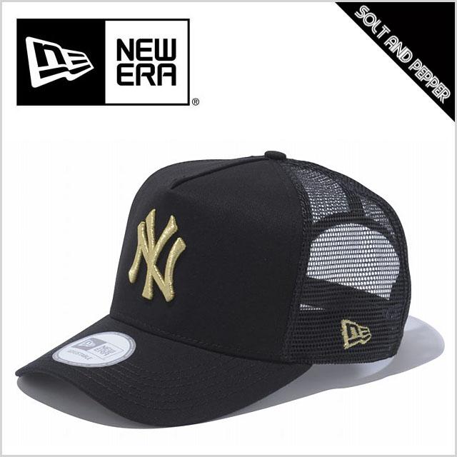 NEWERA ニューエラ CAP D−フレームトラッカー NFL ニューヨーク ヤンキース BLACK ブラック 黒 GOLD ゴールド 金 c30bc9be5d