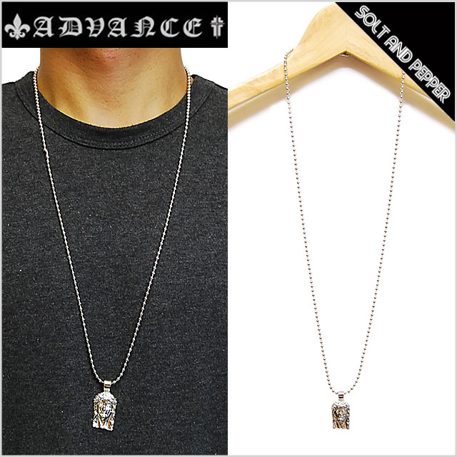 for advance jesus necklace silver advanced jesus necklace silver silver ball chain men women men women