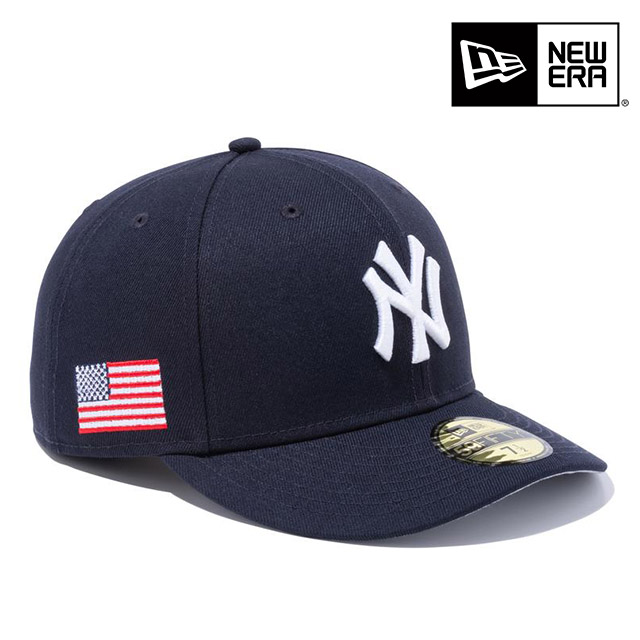 NEWERA ニューエラ PC 59FIFTY スターズストライプ ニューヨーク ヤンキース USフラッグ ネイビー メンズ 男性 ERA 送料無料 ハット 女性 国内正規品 小物 中古 レディース アクセサリー NEW 帽子 正規取扱店 海外限定