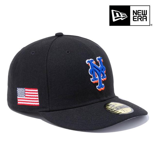 NEWERA ニューエラ PC 59FIFTY スターズストライプ ニューヨーク メッツ USフラッグ ブラック メンズ 男性 送料無料 ハット 女性 レディース 最安値挑戦 小物 正規取扱店 アクセサリー 国内正規品 卸売り 帽子 ERA NEW