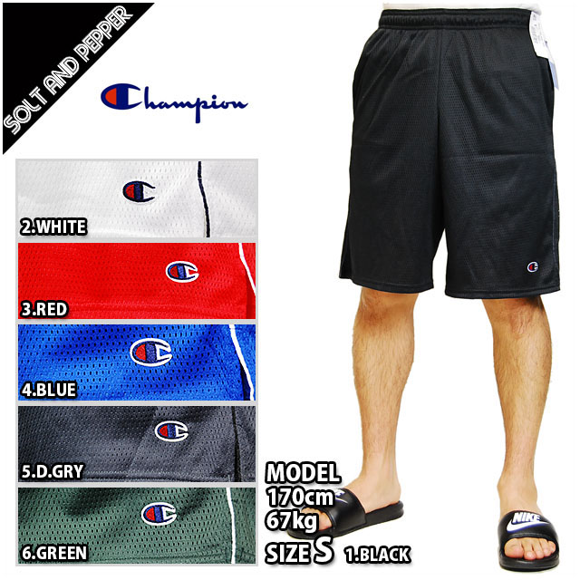 034dd6dbd459 CHAMPION champion MENS AUTHENTIC CIRCUIT MESH SHORTS PANT BLACK WHITE RED  GREEN BLUE GRAY mesh shorts half-pants black black white white red red  green green ...