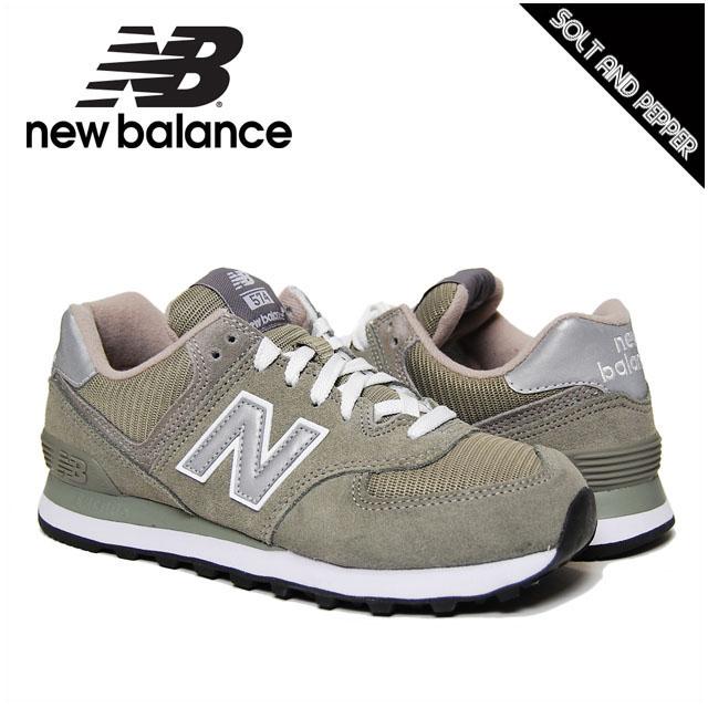 wholesale dealer c7fa3 c615e NEWBALANCE W574GS CLASSICS TRADITIONNELS COLLECTION GRAY WHITE New Balance  sneakers shoes 574 series gray gray white white Lady's women woman sports  ...