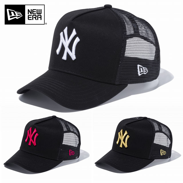 fa0ed157f52 SOLT AND PEPPER  NEWERA new era CAP D-Frame Trucker NY D-frame to ...