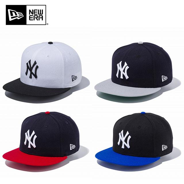 NEWERA new era 9 FIFTY SNAPBACK CAP NEW YORK YANKEES WHITE BLACK GRAY NAVY  RED Snapback ... 782e3e2c106a