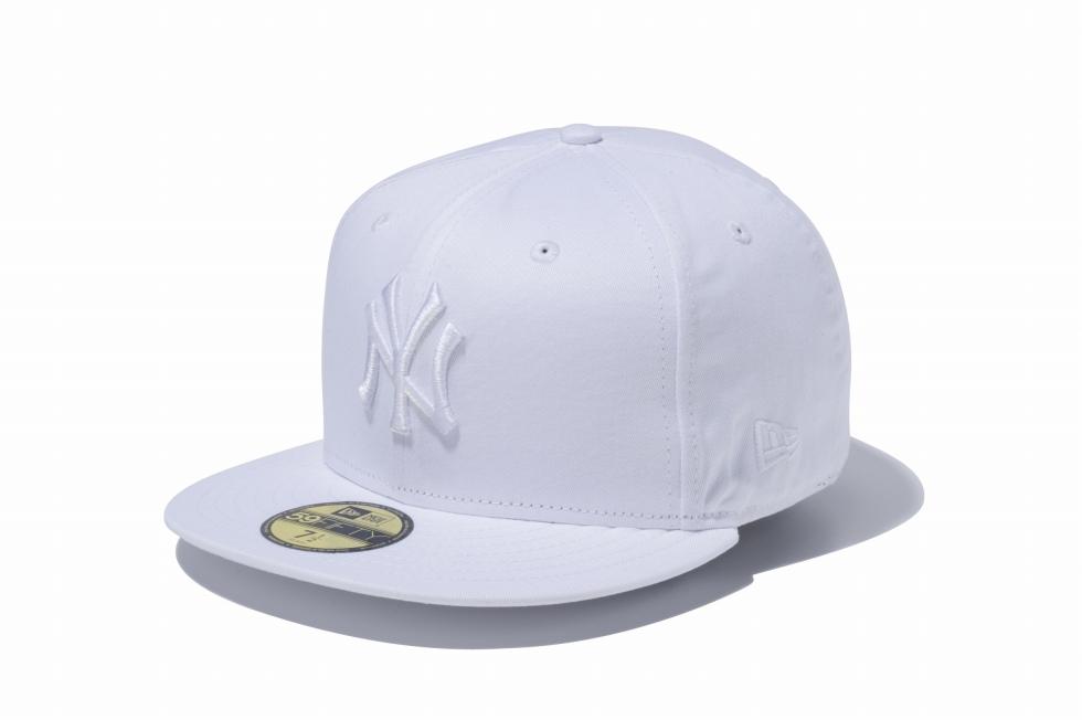 NEWERA ニューエラ 59FIFTY MLB ニューヨーク ヤンキース ホワイト × CAP キャップ 卓抜 ALL WHITE 限定タイムセール オールホワイト 白 国内正規品 ハット ERA 正規取扱店 メンズ アクセサリー 帽子 小物 レディース 送料無料 NEW 女性 男性
