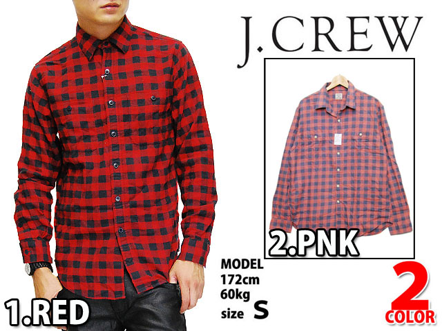 SOLT AND PEPPER | Rakuten Global Market: J.CREW FLANNEL l/s SHIRTS ...