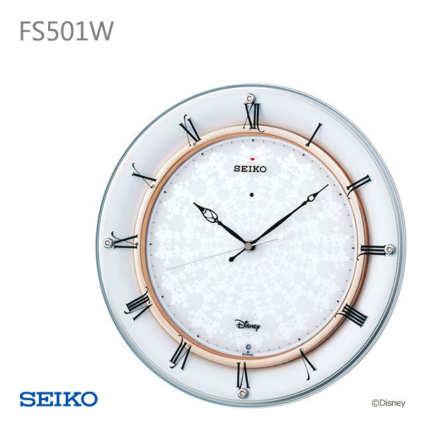 SEIKO セイコー 掛け時計 掛時計 ディズニー FS501W 取り寄せ