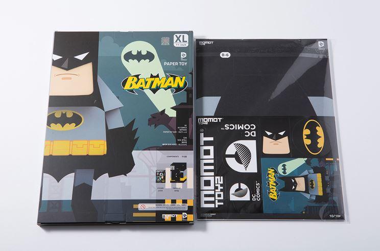 MOMOT 流行动漫大集合 ! 纸模工具包蝙蝠侠 DC 漫画蝙蝠侠 XL 直流 Comics_Batman_XL 11 英寸