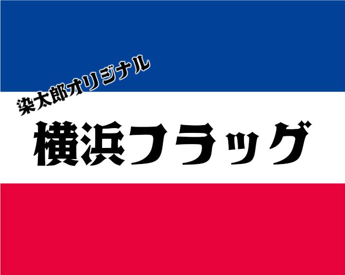 【横浜フラッグ2×2.5m】横浜サポーターにおすすめ!サッカー応援にシンプルなパイプフラッグ★