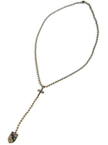 ARMANI EXCHANGE and Armani Exchange Ango's Rosary necklace R6NK048