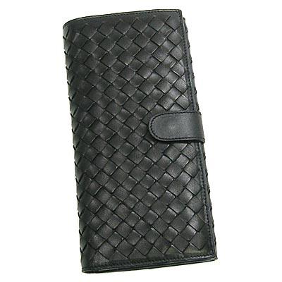 ボッテガ ヴェネタ 長財布 134075 V0013 1000 ブラック 【Luxury Brand Selection】【レディース ギフト】【ラッピング無料】【10P11Mar16】【05P03Dec16】