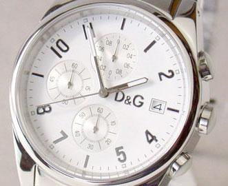 D & G TIME d & g SANDPIPER chronograph SS belt watch white 3719770110 fs3gm5P13oct13_a10P18Oct1310P28Oct13