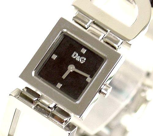 D&G TIME ドルチェ&ガッバーナ NIGHT&DAY レディースSSベルト腕時計 3719250892【ラッピング無料】