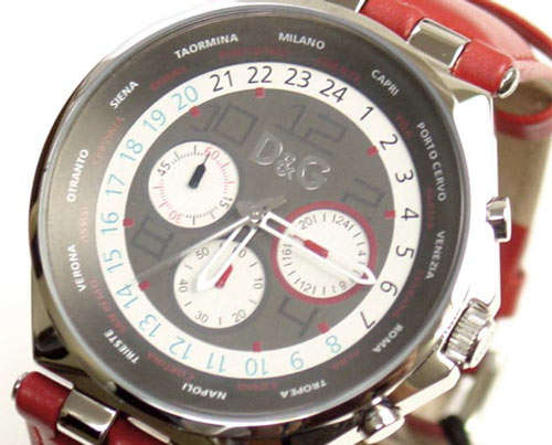 D & G TIME Dolce & Gabbana UNIQUE Chronograph Watch 3719770204