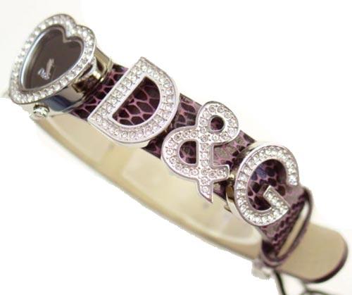 D & G TIME Dolce & Gabbana I Love D & G ladies watch DW0005