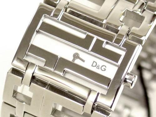 D&G TIME ドルチェ&ガッバーナ EDDIE エディ SSベルト腕時計 DW0045 シルバー【ラッピング無料】