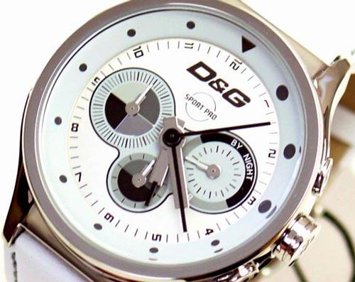 D&G TIME ドルチェ&ガッバーナCODE NAME クロノグラフ時計 DW0212 ホワイト【ラッピング無料】【10P11Mar16】【05P03Dec16】