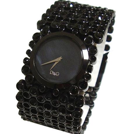 D&G TIME ドルチェ&ガッバーナRISKY レディースSSベルト腕時計 DW0245【ラッピング無料】【10P11Mar16】【05P03Dec16】