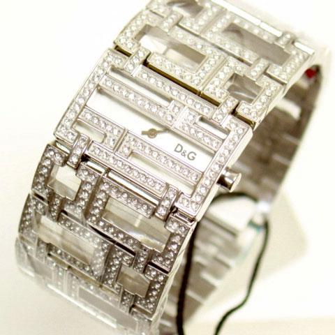 D & G TIME Dolce & Gabbana EDDIE Eddie SS belt wristwatch DW0044