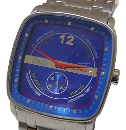 D&G TIME ドルチェ&ガッバーナ SSベルト腕時計 DW0051【ラッピング無料】【10P11Mar16】【05P03Dec16】