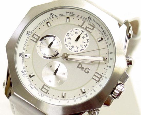 D&G TIME ドルチェ&ガッバーナ GOOSE クロノグラフ時計 DW0101 ホワイト【ラッピング無料】【10P11Mar16】【05P03Dec16】