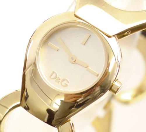 D&G TIME ドルチェ&ガッバーナFLAT HEAD レディースSSゴールドベルト腕時計 DW0171【ラッピング無料】【10P11Mar16】【05P03Dec16】