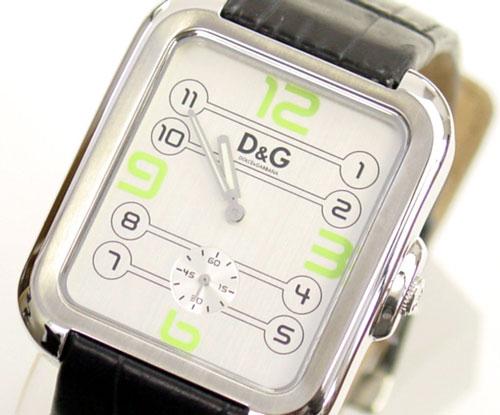 D&G TIME ドルチェ&ガッバーナAPACHE メンズ腕時計 DW0187 シルバー×ブラック【ラッピング無料】【】【10P11Mar16】【05P03Dec16】