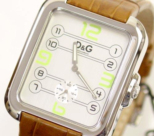 D & G TIME Dolce & Gabbana APACHE mens watch DW0188 silver / Brown