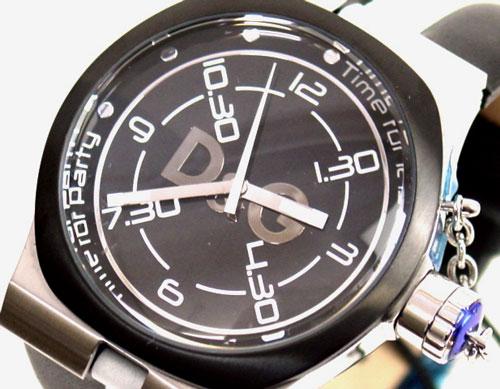 D&G TIME ドルチェ&ガッバーナZANGO メンズ腕時計 DW0194 ブラック【ラッピング無料】【10P11Mar16】【05P03Dec16】