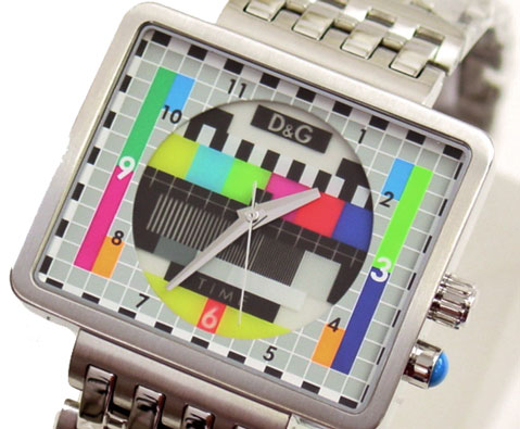 D & G TIME Dolce & Gabbana MEDICINE MAN SS belt watch DW0197