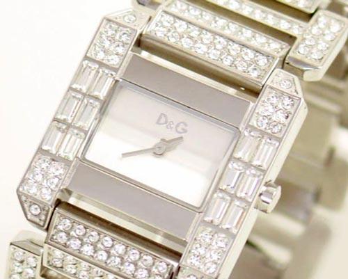 D&G TIME ドルチェ&ガッバーナROYAL レディースSSベルト腕時計 DW0219【ラッピング無料】【10P11Mar16】【05P03Dec16】