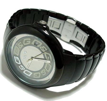 D&G TIME Dolce & Gabbana MOLE men SS belt watch DW0249