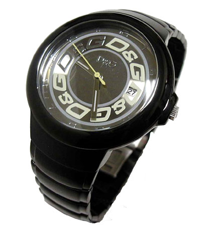 D&G TIME ドルチェ&ガッバーナMOLE メンズSSベルト腕時計 DW0249【ラッピング無料】