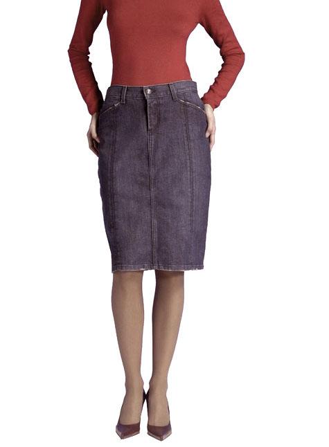 HABITUAL/ハビチュアル デニムスカート【Luxury Brand Selection】【レディース ギフト】【ラッピング無料】【10P01Mar16】【05P03Dec16】