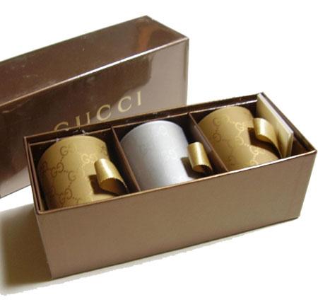 GUCCI 古奇蜡烛 3 件设置 163862 8074