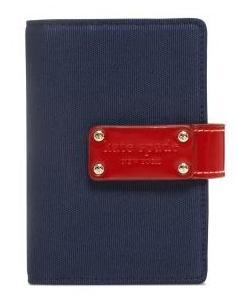 最新2020年システム手帳 spade/ケイトスペード navy Anne red【ラッピング無料】 Cranes 【本体のみ】kate pocket Canvas