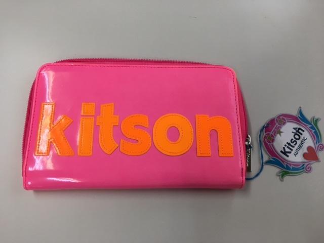 KITSON /キットソン ラウンドファスナー長財布 【Luxury Brand Selection】【ラッピング無料】【05P03Dec16】
