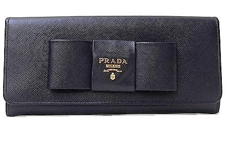 37d934dc0fef1f PRADA/ PRADA ribbon folio long wallet 1M1132 SAFFIANO 05P30Nov13 ...