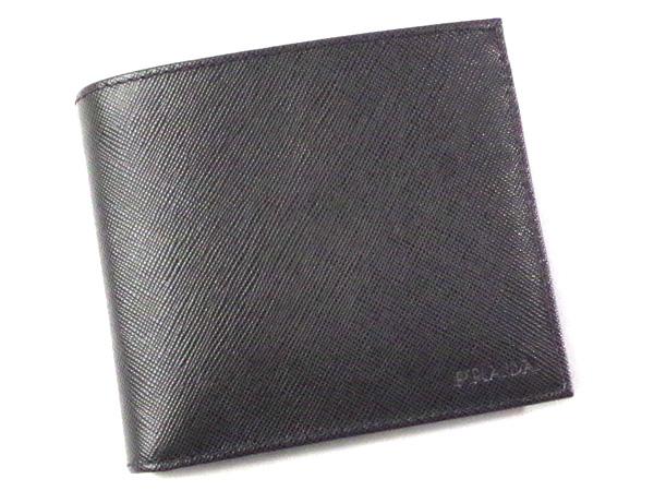 PRADA/プラダ メンズ二つ折り財布 2M0738 SAFFIANO 【メンズ ギフト】【ラッピング無料】【10P11Mar16】【05P03Dec16】