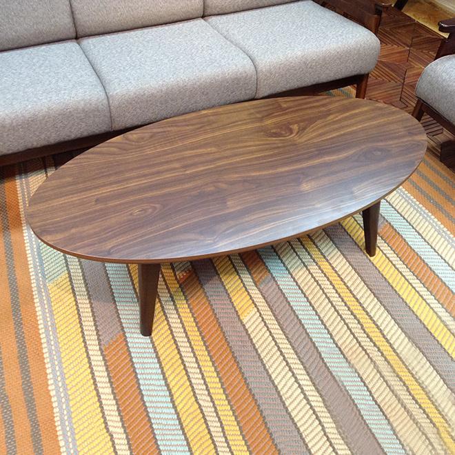 こたつ 送料無料 楕円形 だ円形 こたつテーブル 【リンド RIND】 / コタツ リビングテーブル 天然 長方形 オーバル 北欧 おしゃれ【AZ】