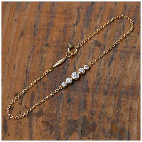 K18 diamond bracelets diamond bracelet gold 18 k 18 k gold size cm ladies bracelet gift gifts jewelry Japan-made anniversary birthday shop limited 10P30May15