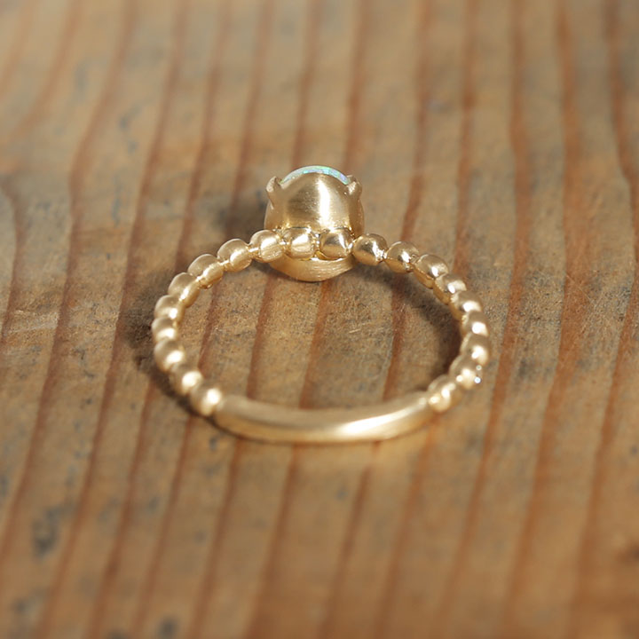 White Opal Ring リング レディース 指輪 オパール ダイヤモンド k18 18金 18k K10 10金 10K ゴールド ピンクゴールド 女性 大人 プレゼント ギフトkZiuXTOP